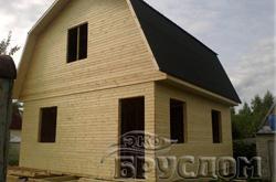 Дом каркасно-щитовой 7,5 х6