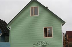 Дом каркасно-щитовой 6х6