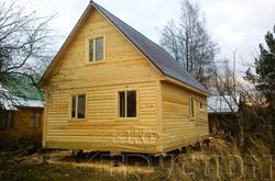 Дом из строганного бруса 9х9
