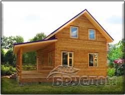 деревянный дом 6х9