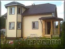 дом из профилированного бруса 9х6