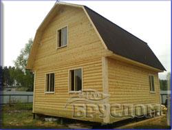 деревянный дом 6х7