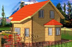 проект деревянного строения